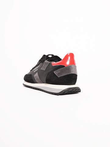 GHOUD Sneakers Man RUSH Nero / Grigio Trymeshop.it