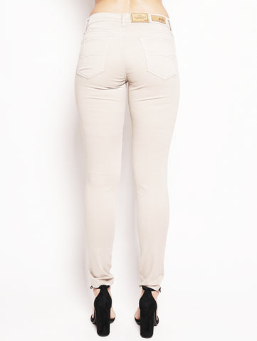 RALPH LAUREN Jeans skinny Tompkins in rasatello Beige Trymeshop.it