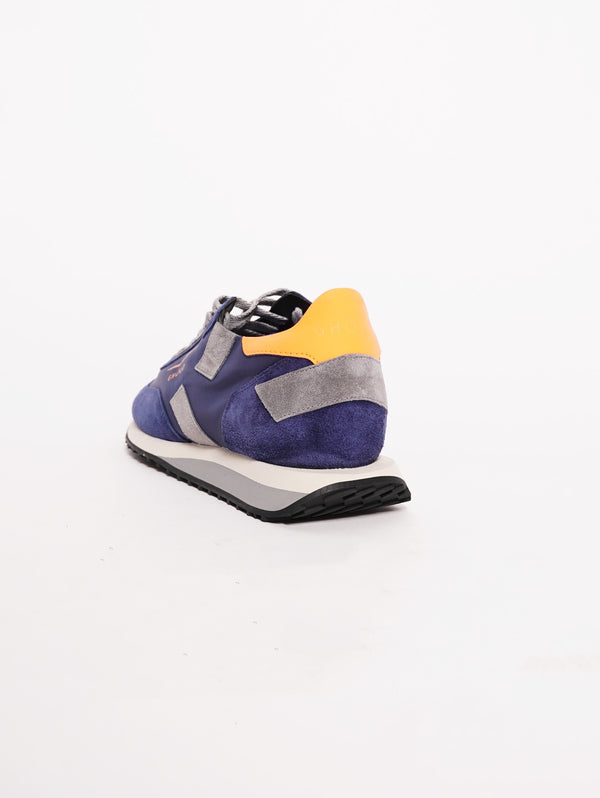 Sneakers Men RUSH Blu-Scarpe-GHOUD-TRYME Shop