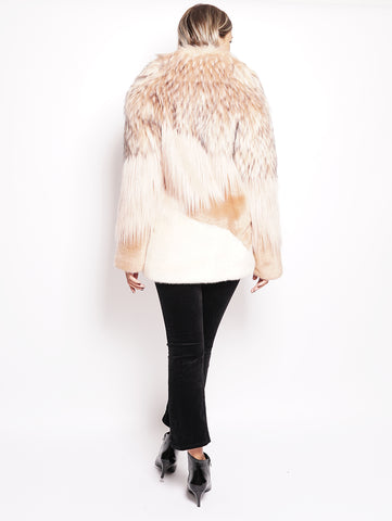 Pinko Cappotto in eco fur Rosa Trymeshop.it