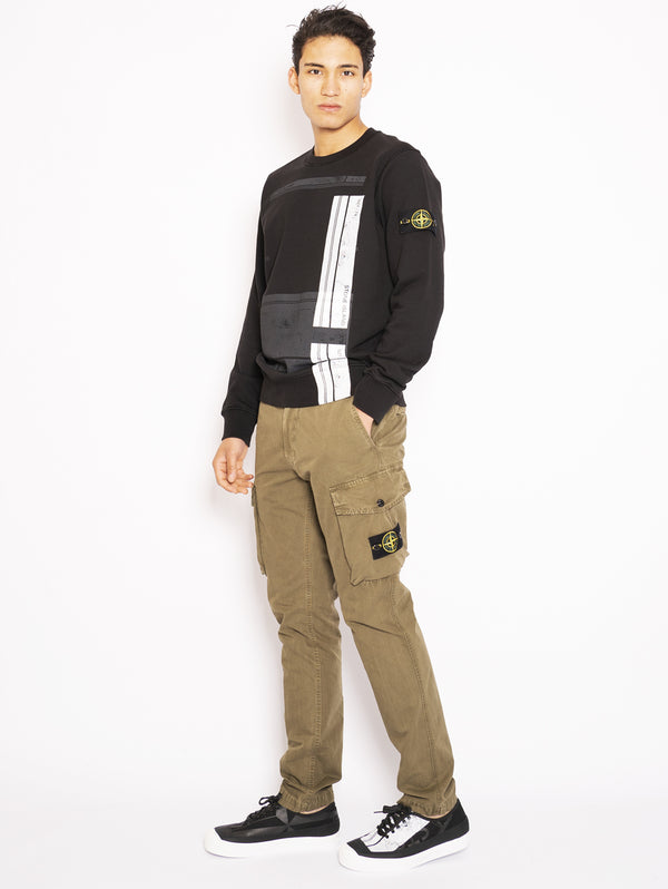 Olive Green Long Cargo Pants