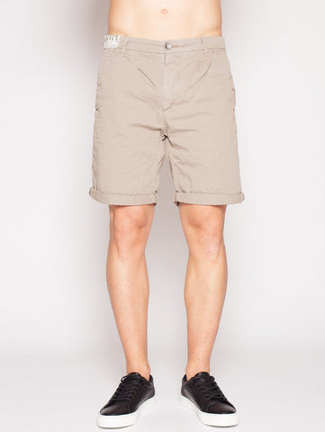 40Weft 40WEFT - MATIÉ 4149 - Bermuda con pence BEIGE Shorts - TRYMEShop