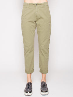40WEFT-40WEFT - VENUS - Pantaloni Chino regular fit MILITARE-TRYME Shop