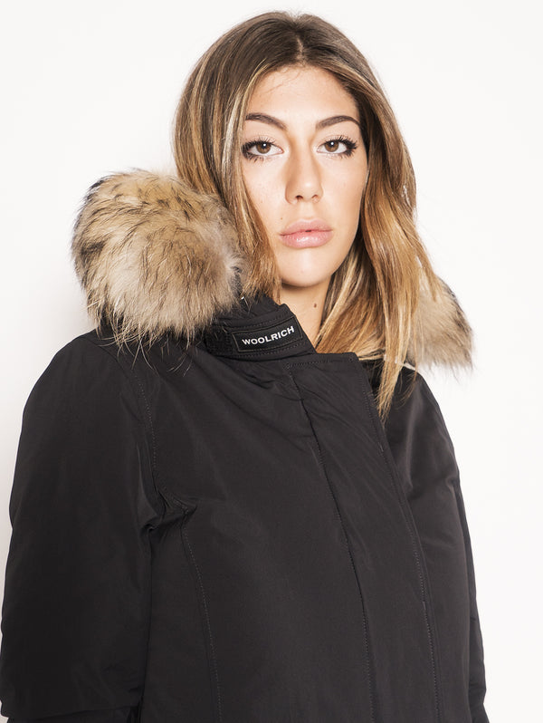 Arctic Parka in Shape Memory  Nero