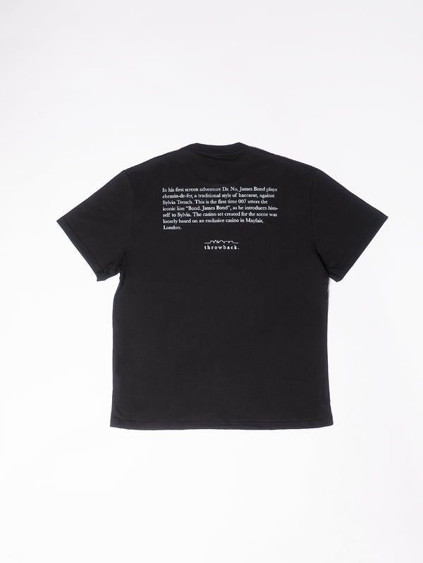 T-Shirt con stampa 007 POKER - Black