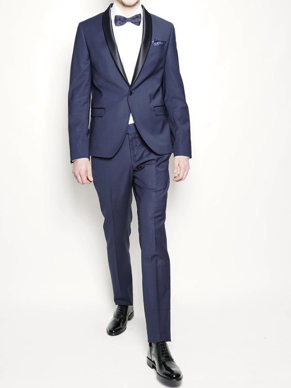 Abito Smoking slim fit Blu-Completi-MANUEL RITZ-TRYME Shop
