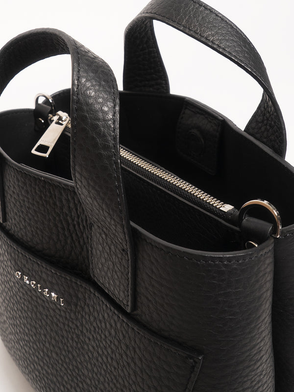 Nora Two Handle Bag - Black