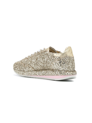GHOUD SNEAKERS IN PELLE 45MM  Glitter Oro Trymeshop.it