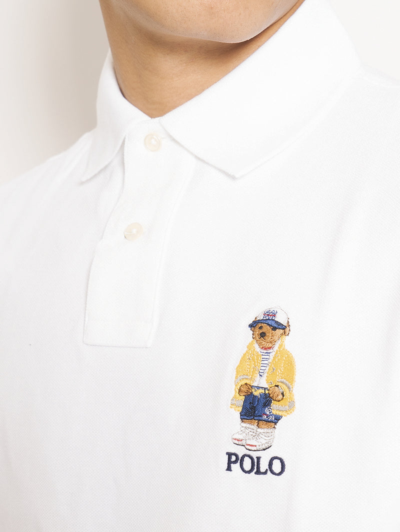 Polo Teddy Bear Bianco