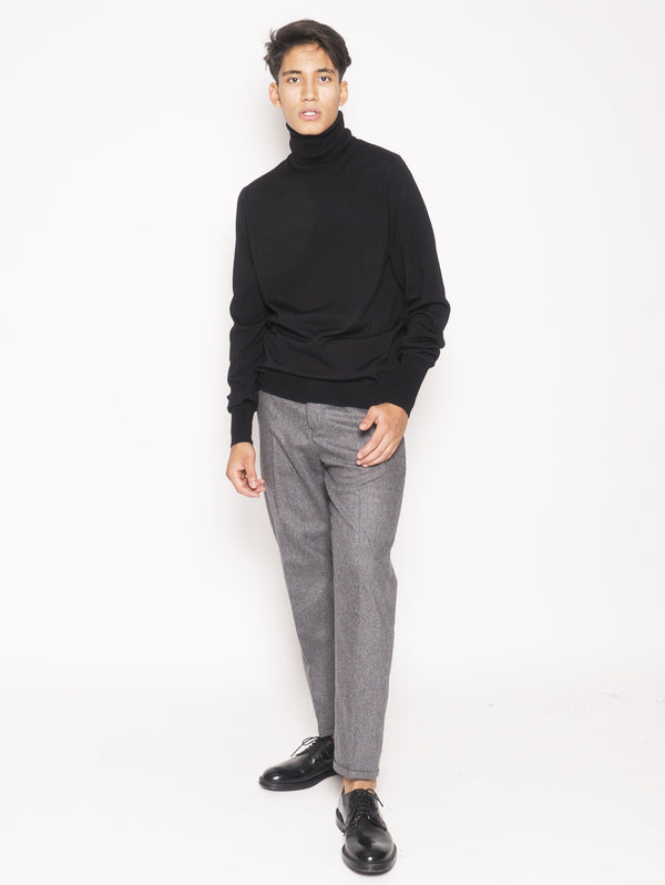 PT 01 FORWARD PANTALONI IN MISTO LANA BI-STRETCH Grigio