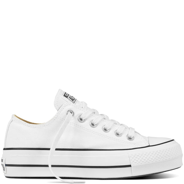 Sneakers Chuck Taylor Platform Low Top Bianco