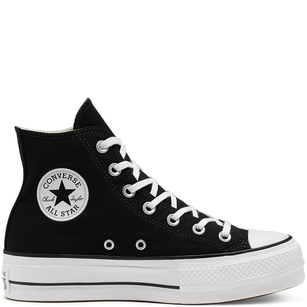 Sneakers Platform Chuck Taylor Lift Nero