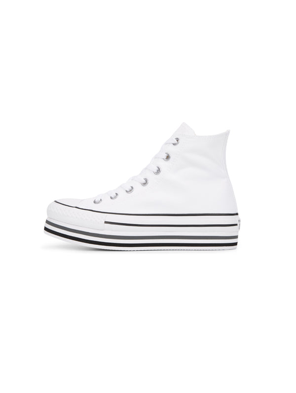 CONVERSE-Sneakers Chuck Taylor Platform High Top Bianco-TRYME Shop