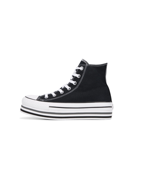 CONVERSE-Snakers Chuck Taylor Platform High Top Nero-TRYME Shop