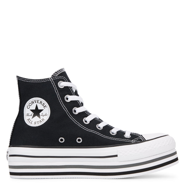 Snakers  Chuck Taylor Platform High Top Nero