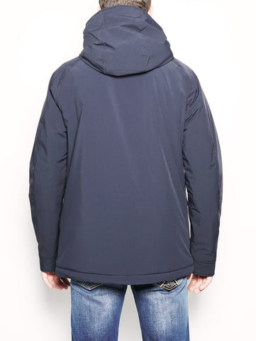 WOOLRICH STRETCH MOUNTAIN JK Blu Trymeshop.it
