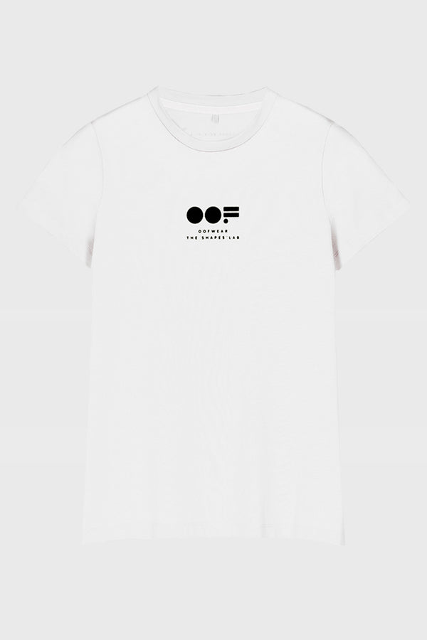 OOF-T-shirt con Stampa Bianco-TRYME Shop