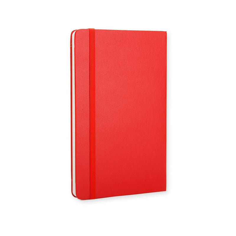 Taccuino rosso a righe hard - Large QP060R ROSSO-Agenda-Moleskine-TRYME Shop