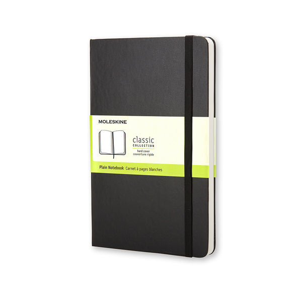 MOLESKINE-Taccuino a pagine bianche hard cover - Pocket QP012 NERO-TRYME Shop