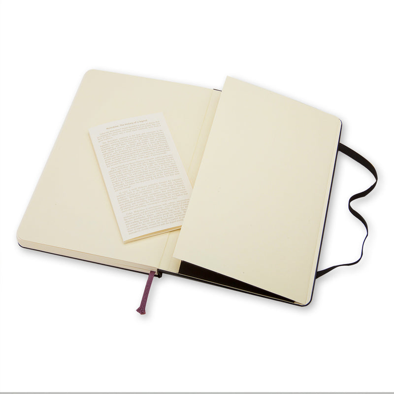 Taccuino a pagine bianche hard - Large QP062 NERO-Agenda-Moleskine-TRYME Shop