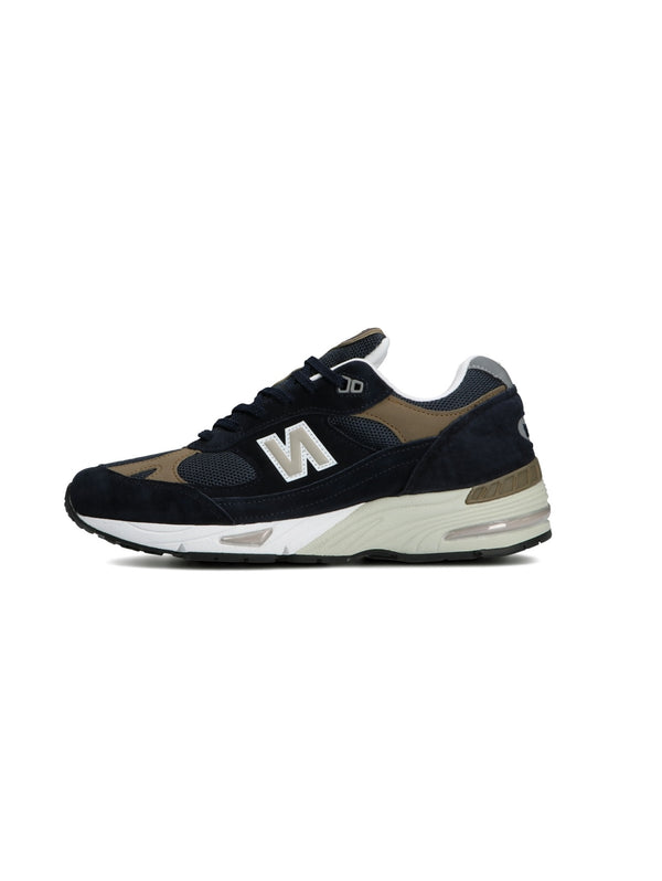 NEW BALANCE-Sneakers 991 Made in England Navy-TRYME Shop