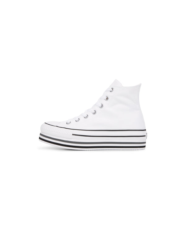 CONVERSE-Chuck Taylor All Star Platform High Top - Bianco-TRYME Shop