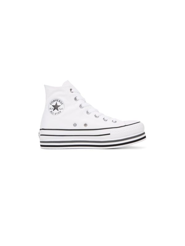 Chuck Taylor All Star Platform High Top - Bianco