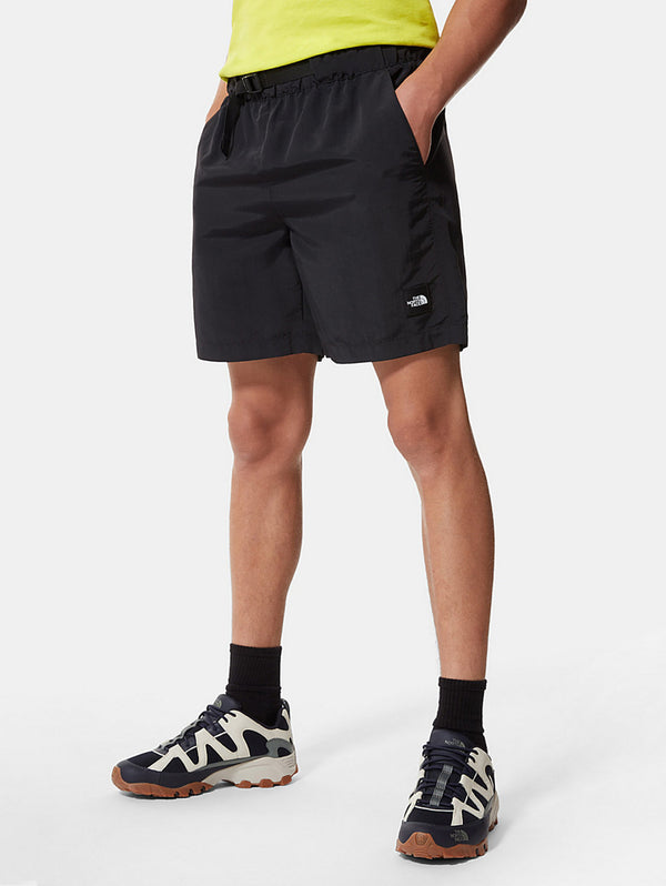 THE NORTH FACE-Pantaloncini in Nylon Nero-TRYME Shop
