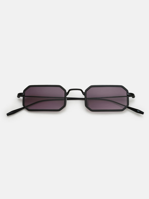 DISTRICT PEOPLE-Occhiali da Sole Carnaby Nero opaco-TRYME Shop