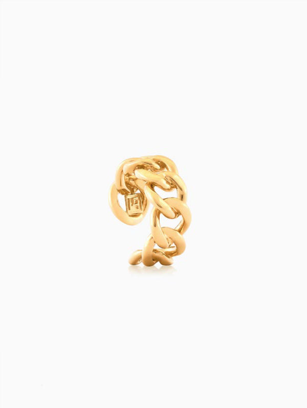 FEDERICA TOSI-Anello Ring Chain Oro-TRYME Shop