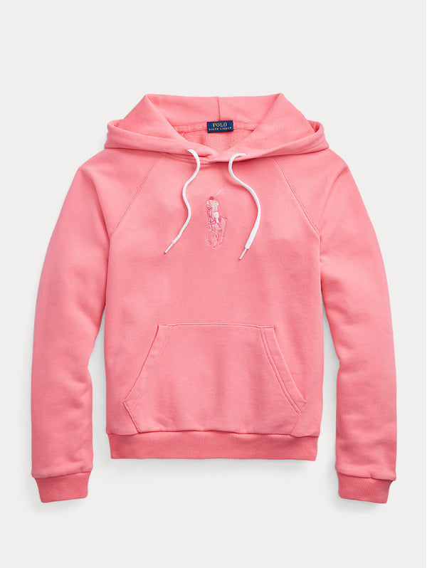 RALPH LAUREN-Felpa con Big Pony Rosa-TRYME Shop
