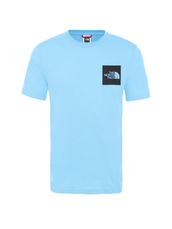 THE NORTH FACE-T-shirt con logo - Ethereal Blue-TRYME Shop
