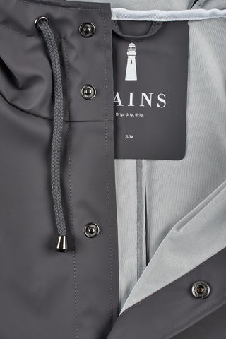 Rains Rains - JACKET 1201 GRIGIO Trymeshop.it