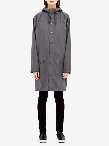 Rains Rains - LONG JACKET 1202 GRIGIO Jacket - TRYMEShop
