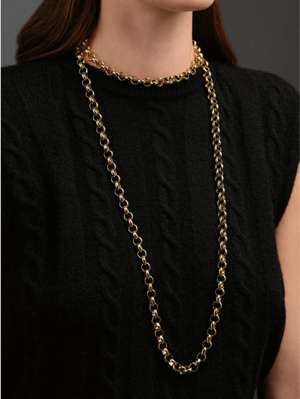 Long Irma Gold Necklace