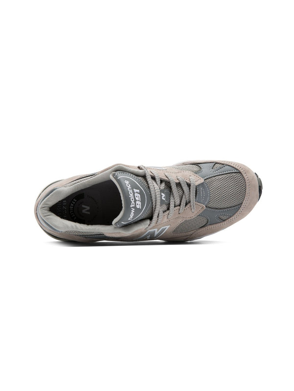 Sneakers 991 Made in UK - PigSkin Mesh Grey