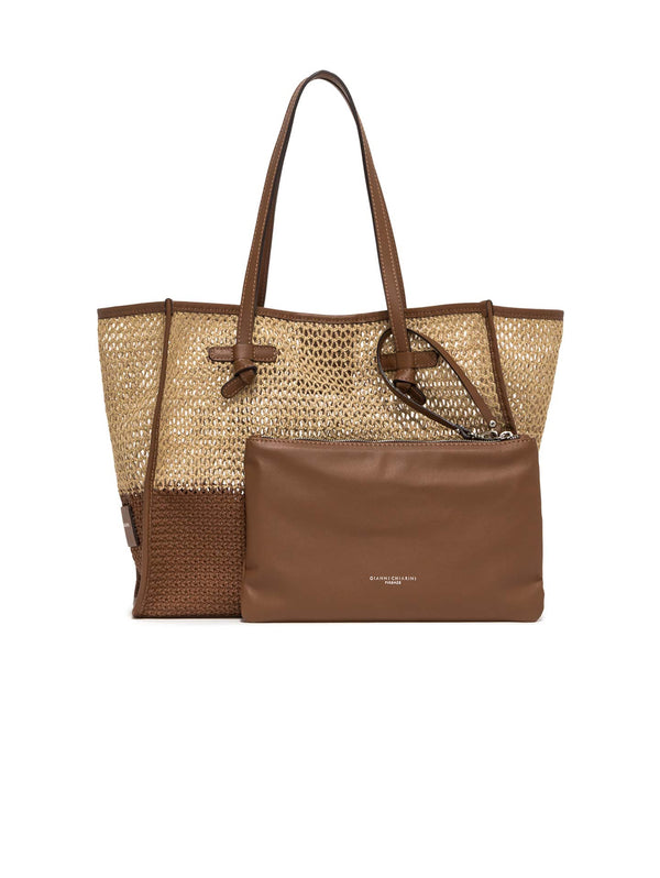 Marcella Hemp Leather Shoulder Bag