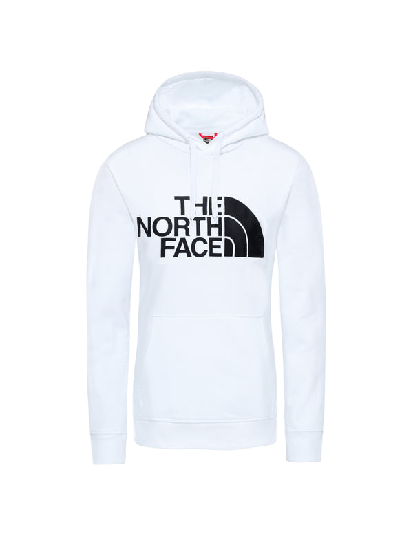 THE NORTH FACE-Felpa con Cappuccio Basica - Bianco-TRYME Shop