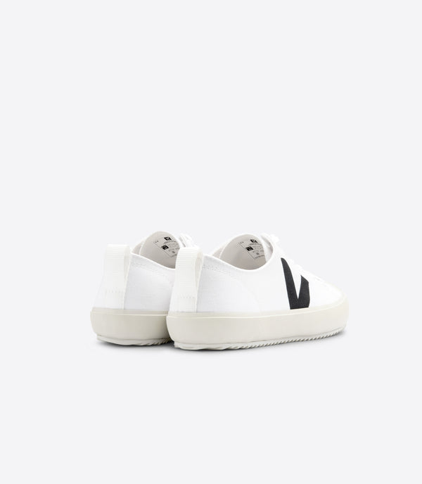Sneakers in Cotone Organico da Uomo White Black