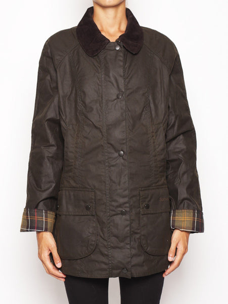 Barbour Classic Beadnell wax Jacket - LWX0668OL71 VERDE SCURO Jacket - TRYMEShop