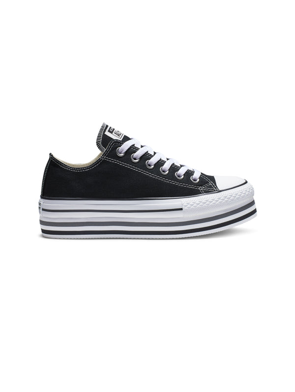 Chuck Taylor All Star Platform Low - Nero
