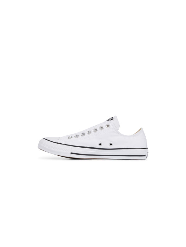 CONVERSE-Sneakers bassa Chuck Taylor Slip On White Black White-TRYME Shop