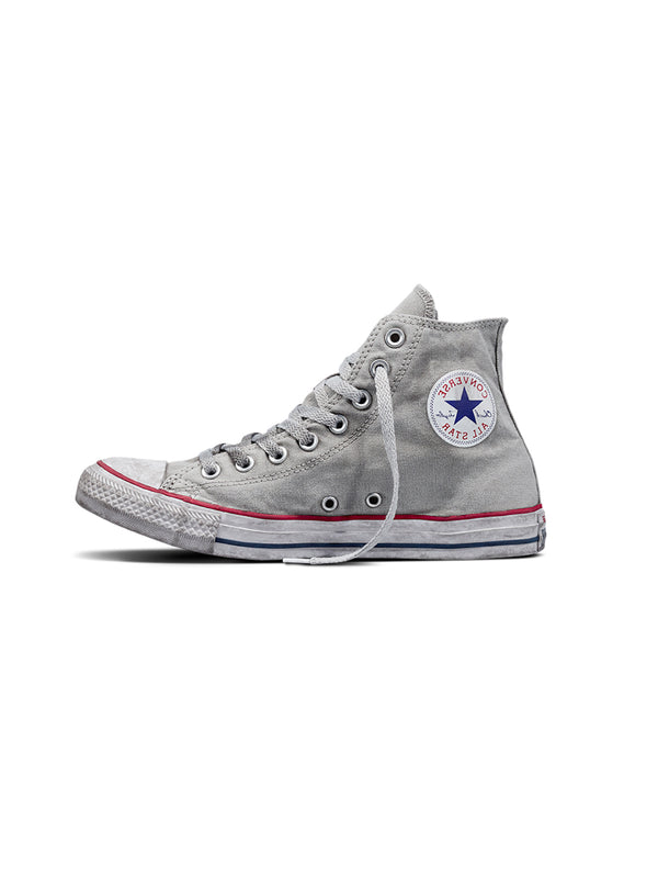 CONVERSE-Sneaker Chuck Taylor All Star Canvas Smoke High Top - Grigio-TRYME Shop