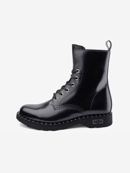 ZEPPELLIN MID 472 LEATHER BLACK Nero CULT TRYMEShop