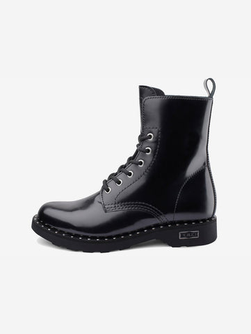 CULT ZEPPELLIN MID 472 LEATHER BLACK Nero Trymeshop.it