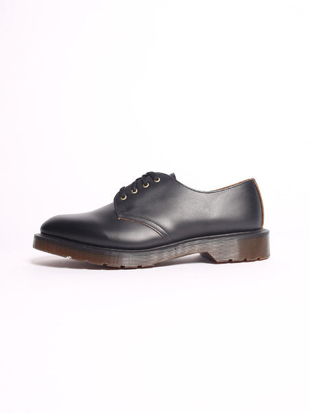 DR. MARTENS - SMITH Black vintage Smooth - Scarpe NERO Dr. Martens TRYMEShop