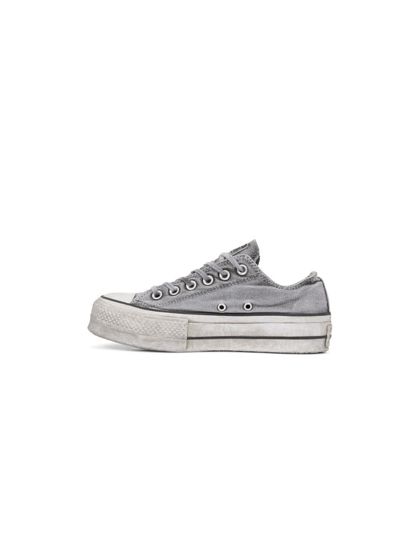 CONVERSE-Chuck Taylor All Star Ox Lift - Grigio-TRYME Shop