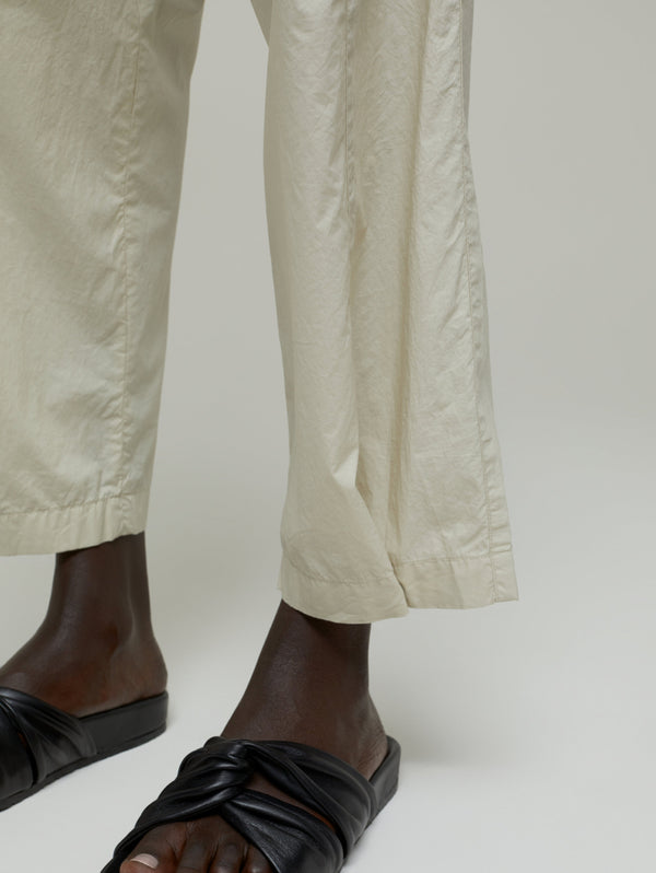 Trousers with Beige Pences