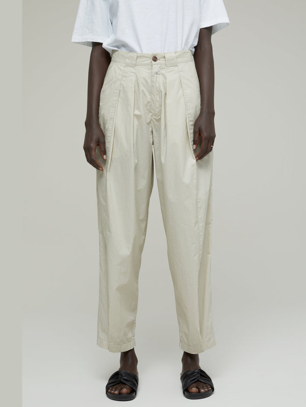 CLOSED-Pantalone con Pences Beige-TRYME Shop