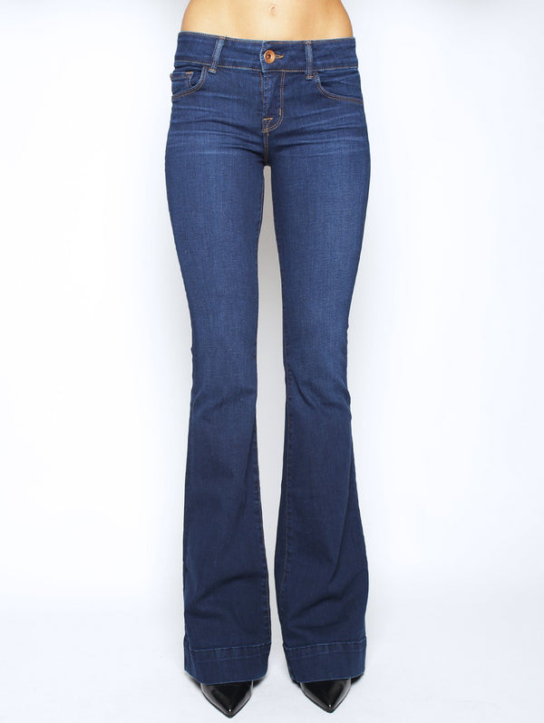 J BRAND-Jeans Colse Cut Love Story Dark Blue-TRYME Shop